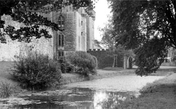 Old photo of the Mill Leat at Bute Park