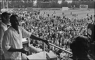 Photo of Sophia Gardens cricket ground in 1969