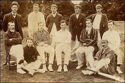 Photo of Glamorgan cricket team in 1908