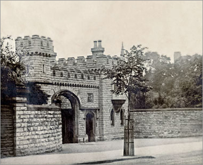 photo of the West Lodge Gate