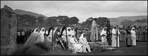 Photo of Gorsedd ceremony in Colwyn Bay 1947
