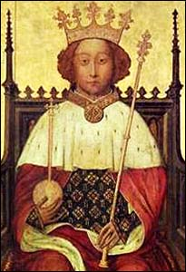 Painting of King Richard II