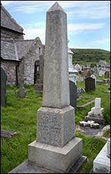 Grave of Job Jones on Great Orme