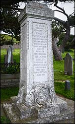 Grave of Sir John Bayley