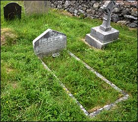 Grave of Leonard Bright on Great Orme