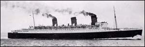 Photo of RMS Queen Mary