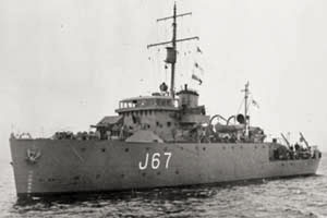 Photo of HMS Llandudno
