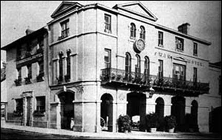 Old photo of Swan Hotel