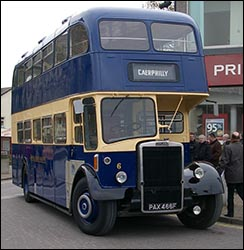 Photo of Bedwas and Machen bus