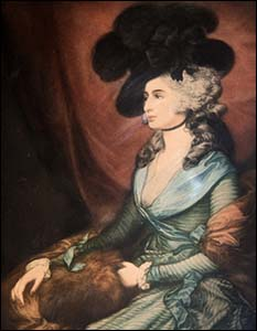 Painting of actress Sarah Siddons