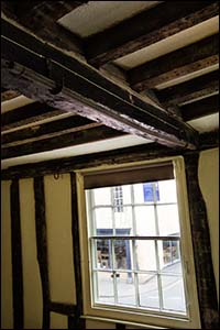 Photo of first floor of interior at 15 Ship Street Brecon