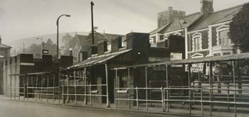 Photo of Carphilly bus station 1962