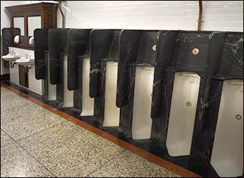 Photo of Hayes urinals