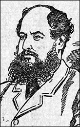 Drawing of William Churchman