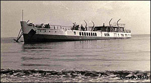 Photo of wreck of Prince Ivanhoe