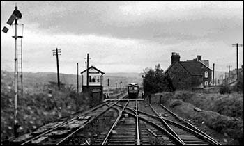 Photo of Llandrindod Wells signal box from RCTS Archive