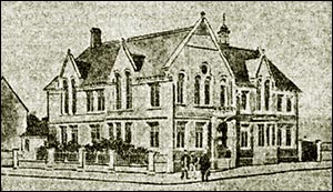 Drawing of Newbridge Institute when new