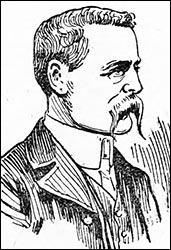 Drawing of William Beavan