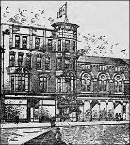 Drawing of Newport YMCA in 1909