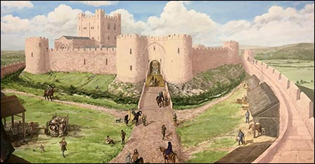 talybont_pencelli_castle_painting