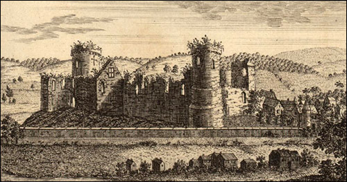 History Points - Usk Castle