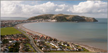 Current view of Great Orme Llandudno