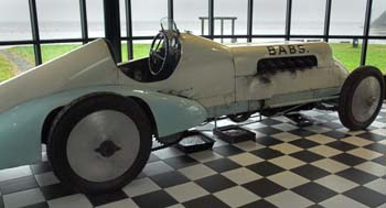 Photo of speed record holder racing car called Babs