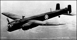 Photo of Armstrong Whitworth Whitley bomber