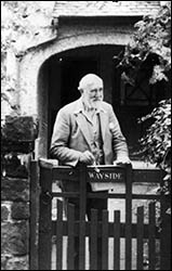 Photo of TA Leonard at Wayside Cottage