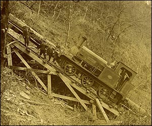Photo of Dolgarrog incline and pipes
