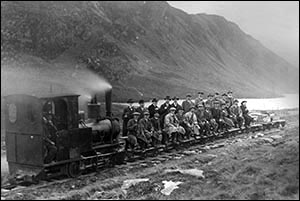 Photo of Cowlyd dam train