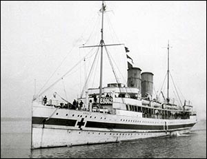 Photo of HMHS Anglia