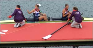 Photo of pontoon during Olympics