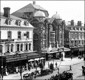 Photo of Palladium Theatre, Llandudno, in 1920s