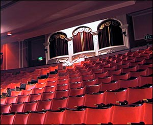 Photo of dress circle at Palladium, Llandudno