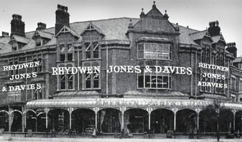 Photo of Rhydwen Jones Davies shop
