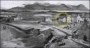 Drawing of Llandudno in 1850s