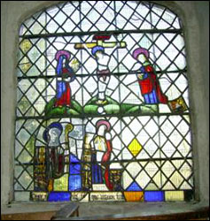 Photo of Llanrhychwyn east window