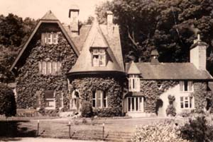 Photo of Pensychnant House in 1937