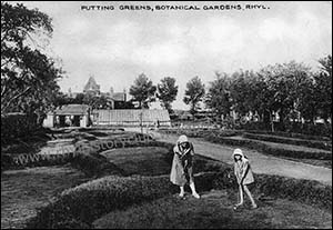 Old photo of Botanical Gardens