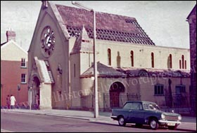 Photo of RC church before demolition