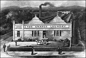 Drawing of Grange Laundry, Rhyl
