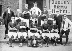 Photo of Rhyl Victoria FC at Dudley Arms
