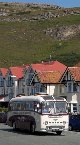 vintage coach on great orme tour