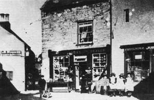 old photo of old china house